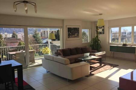 Grand et bel appartement au coeur des Alpes