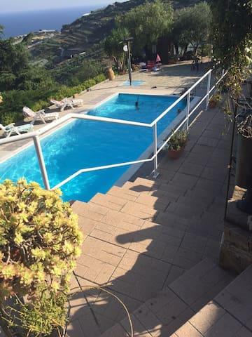 Vista Mare - Castellaro - Villa