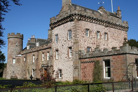 The Blue Room, Thornton Castle - Aberdeenshire - Castell