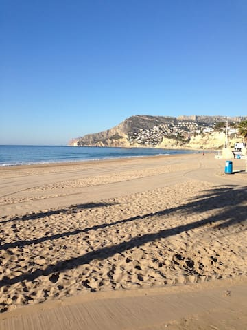 Large, comfortable apartment in Calpe centre