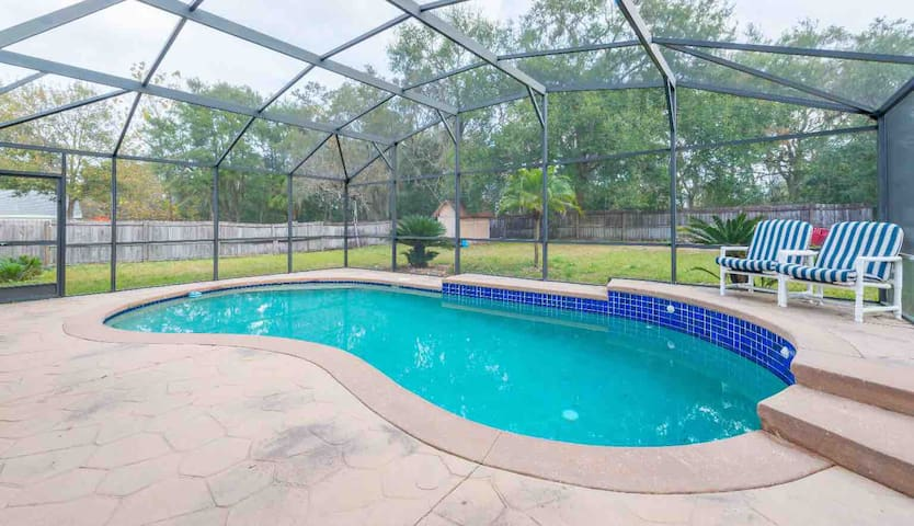 HEATED Pool Home-Central-Disney/Universal/Outlets