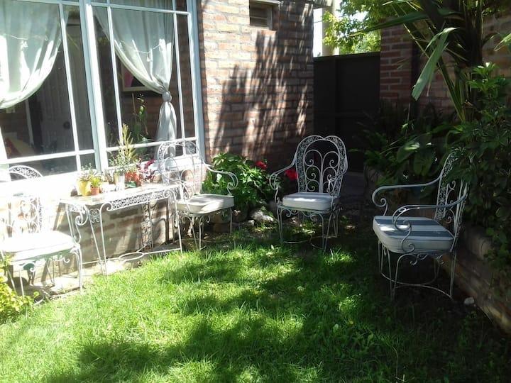 Rincón de jardin