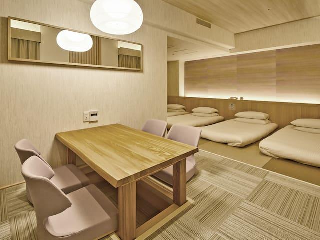 Hotel Nikko Narita (J-Style Room,33SQM,4Futons)