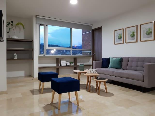 Apartamento en Cali, hermoso e iluminado - 406