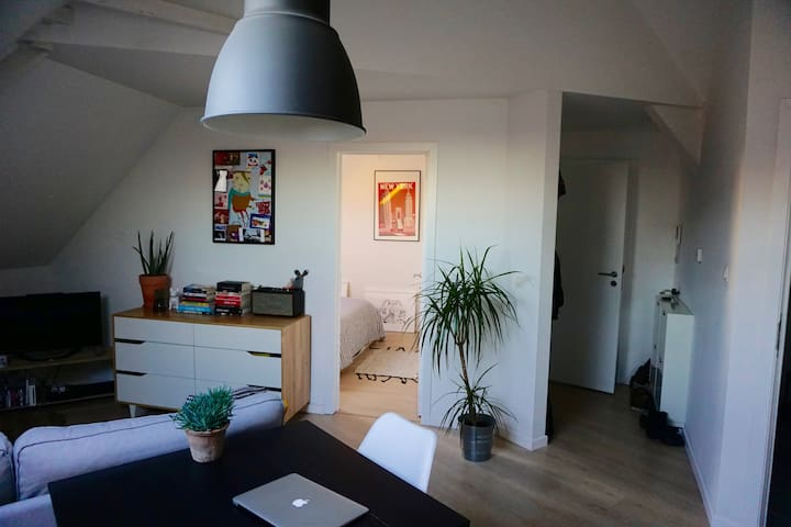 Cozy rooftop apartment in Antwerp - Antverpy - Byt