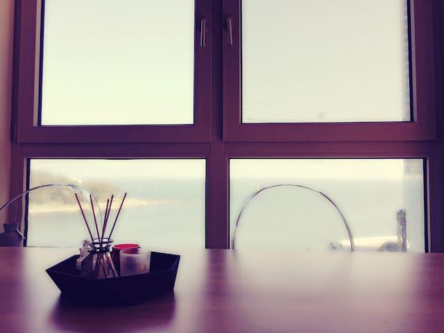 Marincity/Private cozy room/Oceanview - 부산광역시 - Apartemen