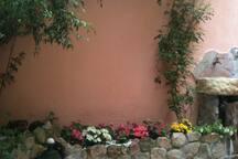 Villasimius casa con cortile situata centro paese