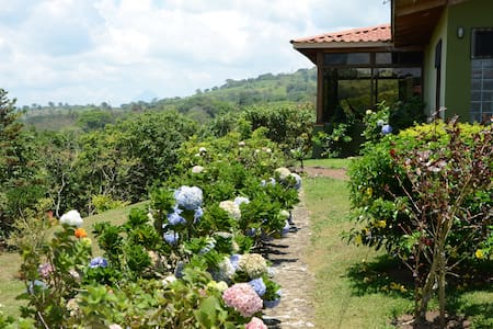 Home for 10 w/view to 3 Volcanoes and Lake Arenal. - Tronadora - Loma-asunto