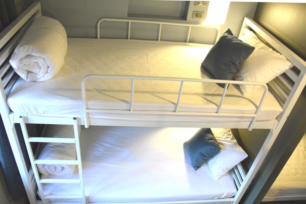 1 bed in 4 bed Dormitory rooms