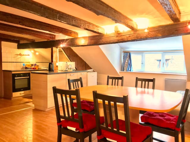 Large Attic Duplex in the Heart of Strasbourg
