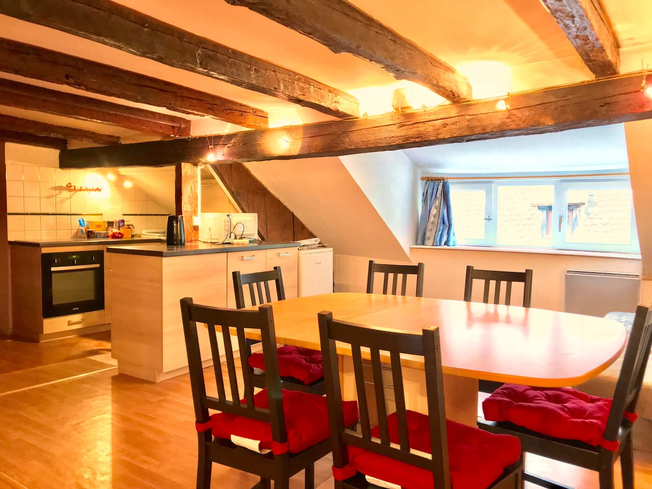 Welcome to my beautiful cabin-like duplex in the heart of Strasbourg's historic center! :)