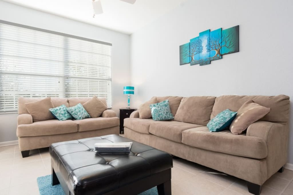Newly furnished second floor condo with all the comforts of home