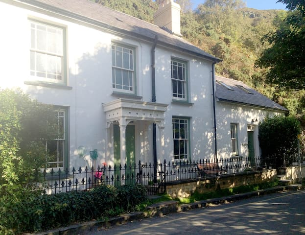 Castle Rock -Pretty coastal cottage in Llangrannog - Llangrannog - Huis