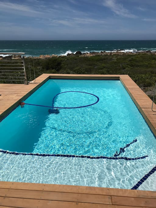 Heated pool - main house, guests have access to the pool
