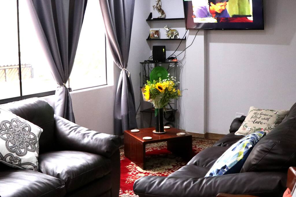 livingroom to entertain guests