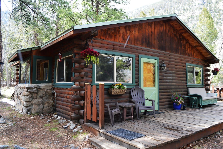 Springtime Creek Cabin