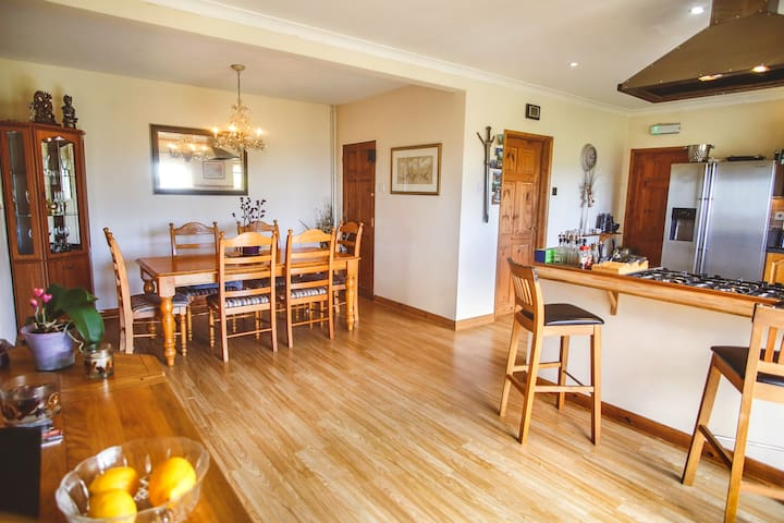 Enjoy a home-cooked breakfast in our spacious kitchen diner