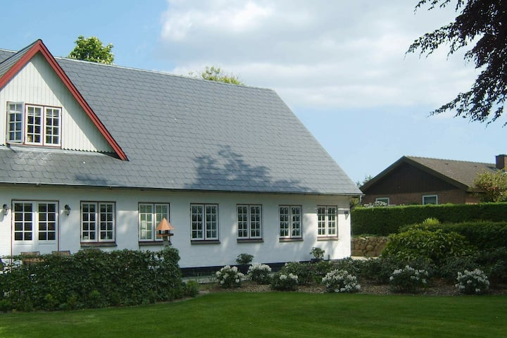 Maison de vacances paisible à Aabenraa, Danemark avec jardin