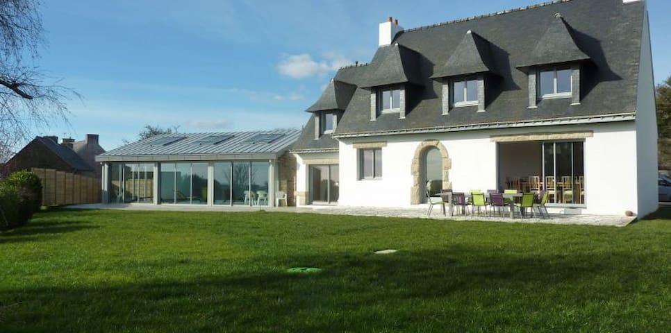 4 stars Villa with indoor heated pool ocean view