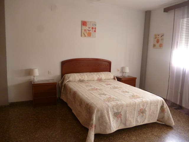 Habitación doble. posibilidad sofá cama para niños - Burjassot - Daire