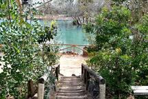 Natural lake of Anna