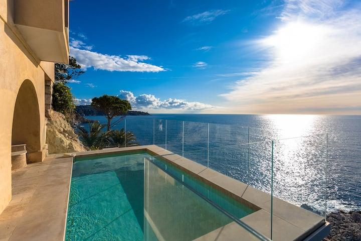 Appartement Luxe Cap de Nice avec Piscine privée