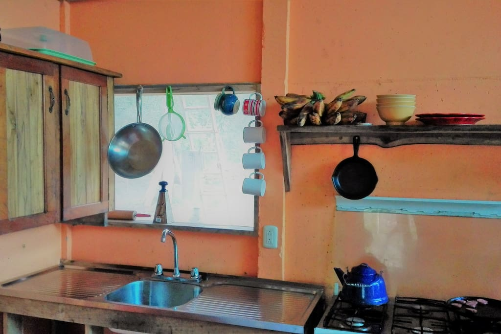 Pots and pans for cooking from your own kitchen!