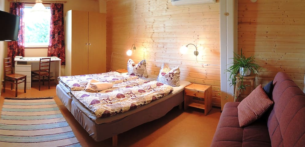 Accommodation on a farm in room Valo