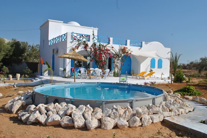 Charming house with swimming pool - Djerba Midun