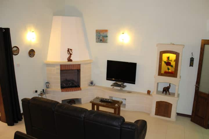 Furnished beautiful Townhouse in a quiet area