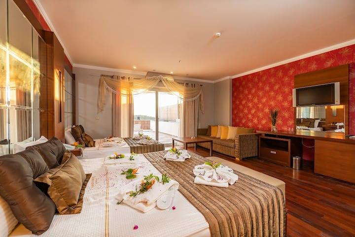 Teras Suite Rooms