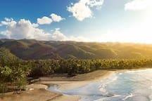 Playa Coson, vaste et spacieuse!