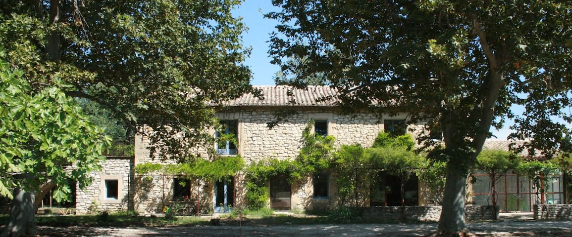 """the Lemon"" in a French farmhouse - Le Thor - Apartment"