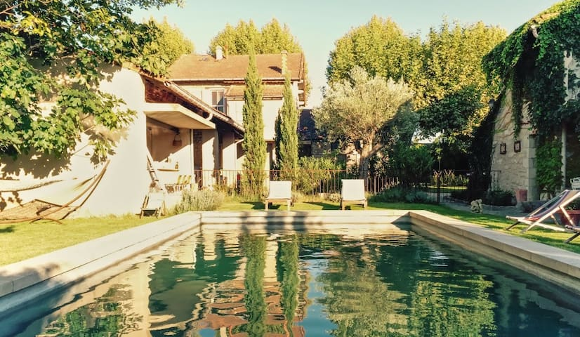 Bright, beautiful house with pool - Cadenet - Rumah