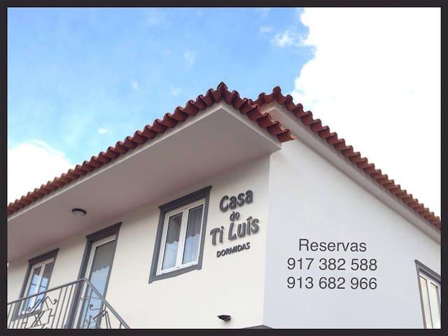 Casa do Ti Luís - wc priv. - Entre Leiria e Fátima - Caranguejeira - Guesthouse