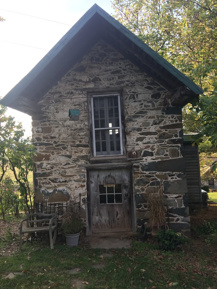 Cozy Stone Tiny House