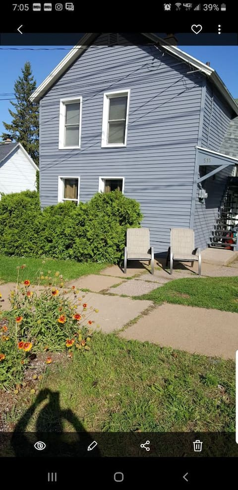 Private Apartment By Downtown Marquette Apt #1