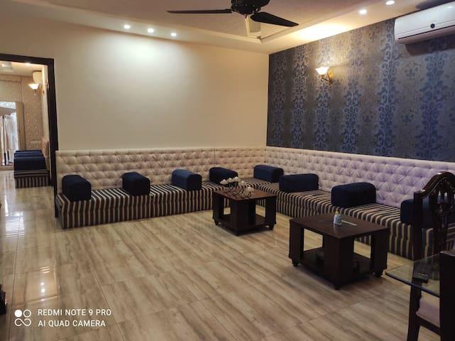 Arabic majlis sitting area