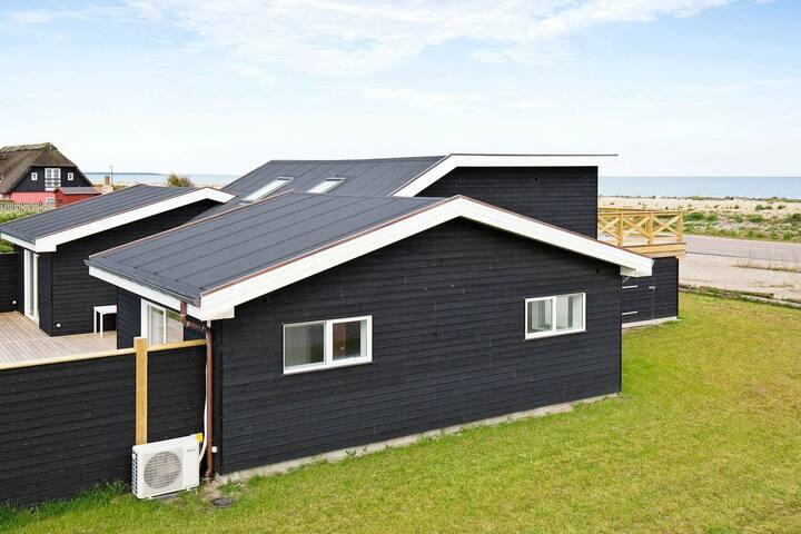 Modern vakantiehuis in Hundested vlak bij de oceaan