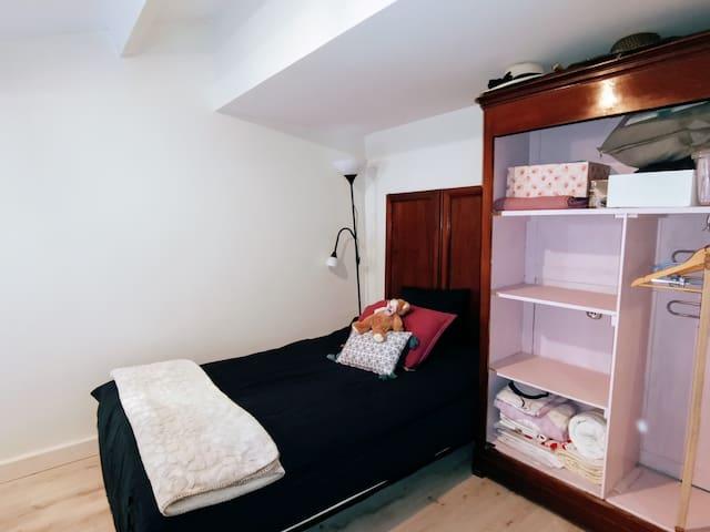 Chambre 2 avec clic clac de qualité 2personnes