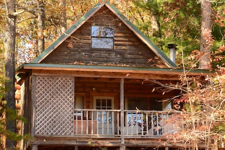 Wildwood cabin at Sunburst Adventures - Clarkesville - Srub