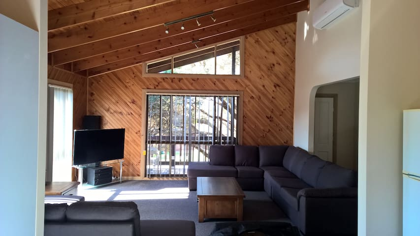 Cathedral Ceilings & Spacious Living Area