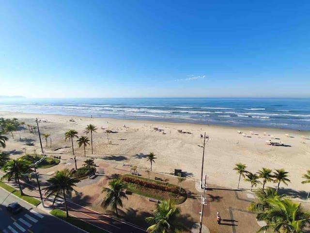 Cidade Ocian - Ap na rua da Praia - 2 quartos