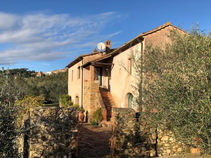 Architect's country house in Maremma, Tuscany