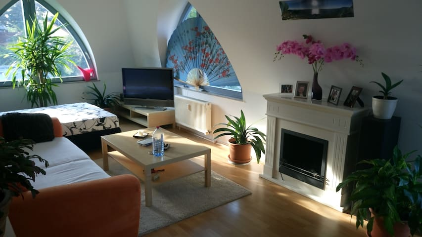Cosy big room with its own terrace - Berlin - Apartmen