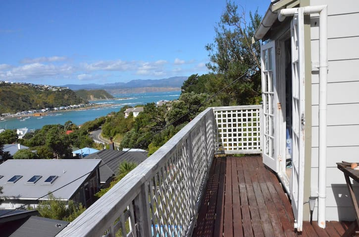 Sea views in Island Bay