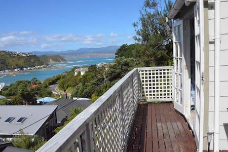 Sea views in Island Bay