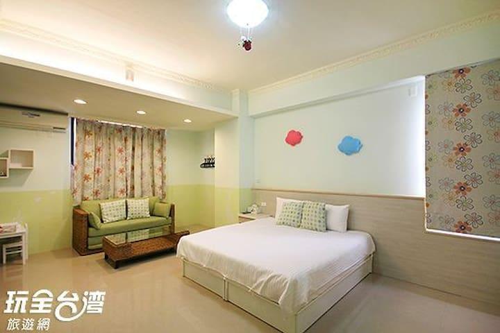 南投集集 山嵐villa花園旅店 Mountain Hotel -- C03.C06  兩人房
