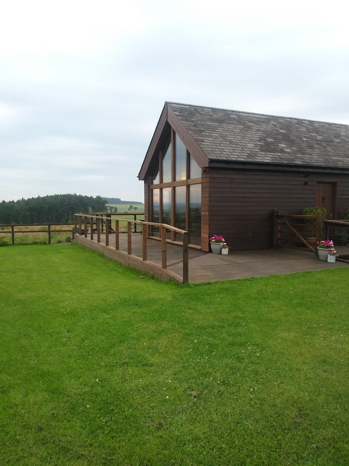 Northumbrian Lodge Views & Hottub