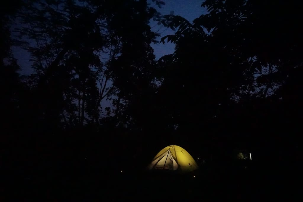 Our Moonlight Tent